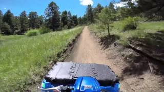 ATV - A short portion of the Noddle Trail at Rampart Range