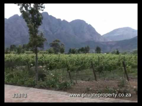 Property For Sale In South Africa, Western Cape, Franschhoek