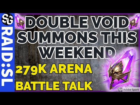 RAID SHADOW LEGENDS | COMMUNITY UPDATE & ARENA 279K TEAMS