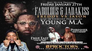 Fabolous & Jadakiss Concert Jan 27TH Young M.A. Dave East Phresher