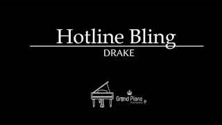 Hotline Bling - Drake | Piano Karaoke