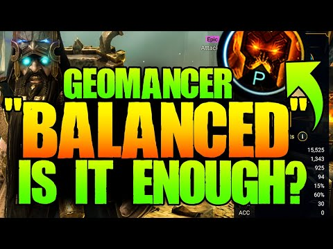 Geomancer FINALIZED with ANOTHER Passive Change! Raid Shadow Legends