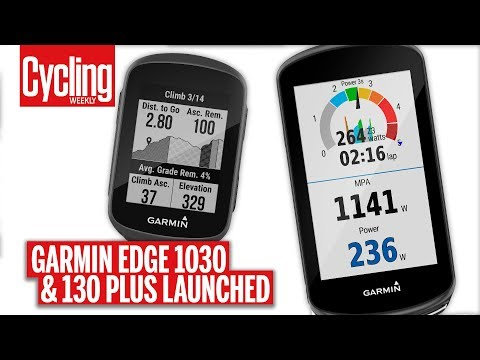 The New Garmin Edge 1030 Plus and 130 Plus | First Look