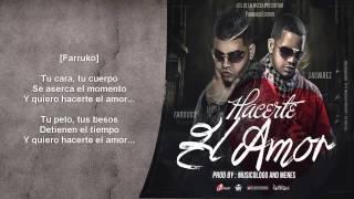 Farruko Ft. J Alvarez - Hacerte El Amor (Instrumental Con Letra) HD