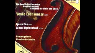 Preview - J.S. Bach - Concert in d-minor BWV 1060 for oboe, violin, strings and continuo - Mov II