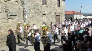 Procissão Festas de Roriz - Barcelos   BM Sanguinhedo 15 05 2016