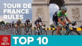 Top 10 Rules Of The Tour De France