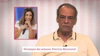 Famoso em destaque da semana de 1 a 7 de setembro: Patrícia Abravanel