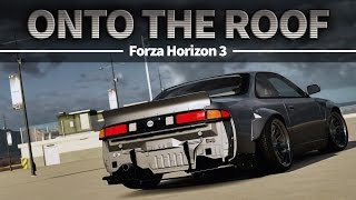 How to get on top of the Carmeet building - Forza Horizon 3