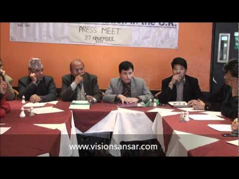 Yeti Nepali Association UK-Press Meeting 27th november 2011
