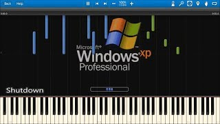 WINDOWS STARTUP AND SHUTDOWN SOUNDS IN SYNTHESIA