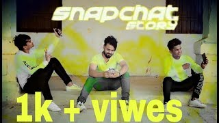 SNAPCHAT STORY-bilal saeed ft. Romee khan DANCE COVER WITH D.D.A width=