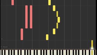 "La La Land Soundtrack: ""Mia & Sebastian's Theme"" Late for the Date (Piano sheet & Synthesia)"
