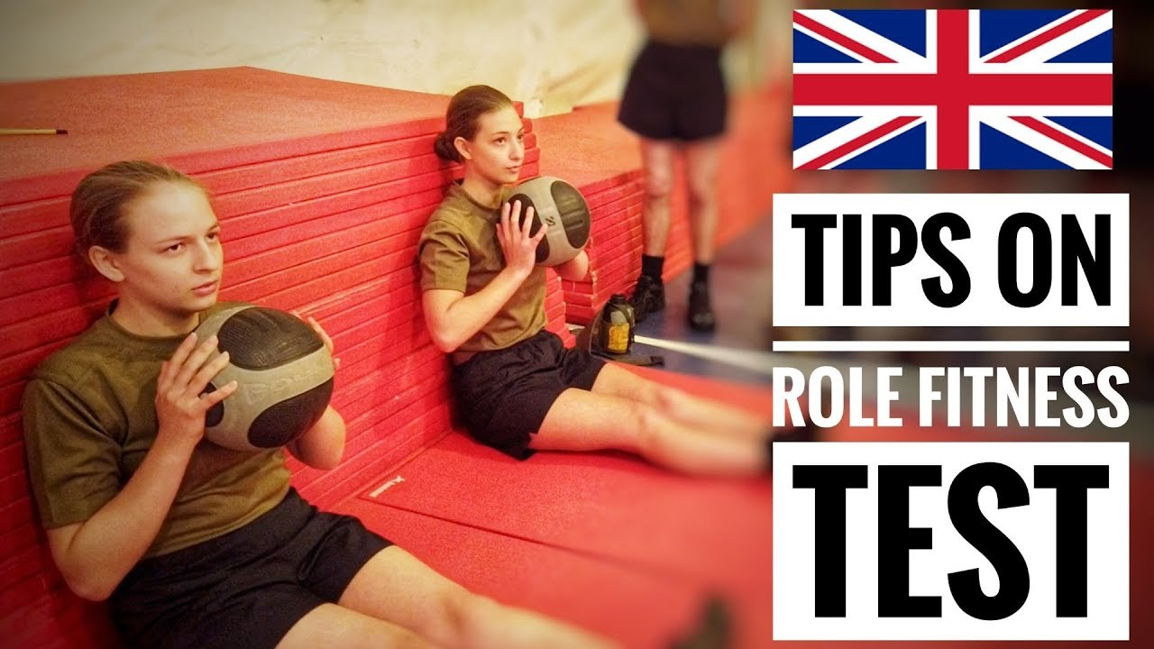 Recruits New Fitness Test –  British Army – 2019