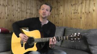 Matt Simons - Catch and release (solo acoustic cover)