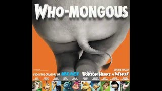Horton Hears A Who: Horton's Butt Posters
