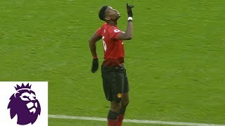 Paul Pogba opens the scoring with penalty kick against Brighton | Premier League | NBC Sports width=