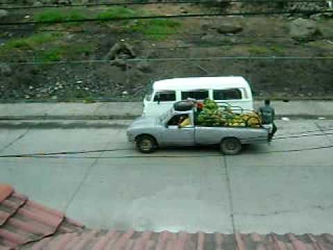 Men selling fruit