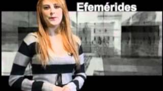 24 DE ENERO DEL 2011  EFEMERIDES  con Daniela Saldivar
