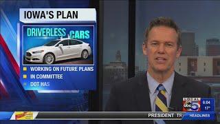 Self-driving cars in Iowa's future