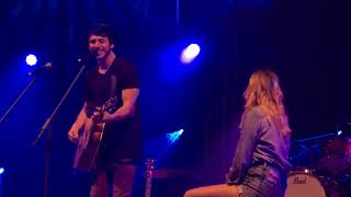 Morgan Evans performs I Do to Kelsea Bellerini for the first time as Mr & Mrs