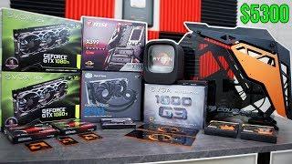 $5300 Threadripper Gaming PC | Montage Build