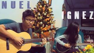 NUEL & IGNEZ guitar duet plays 'Starving' (Hailee Stainsfeld) cover