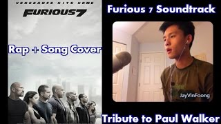 """""""See You Again"""" [Tribute to Paul Walker] Furious 7 Trailer Clips + Full Soundtrack Cover"""