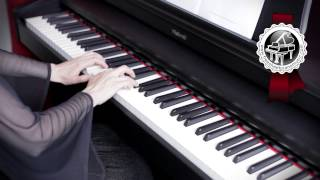 """DEBUSSY - """"Clair de Lune"""" Easy Piano Version"""