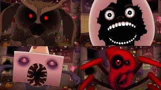 THE JUMPSCARES OF ONE NIGHT AT FLUMPTY'S 2 | LOS SUSTOS DE ONE NIGHT AT FLUMPTY'S 2