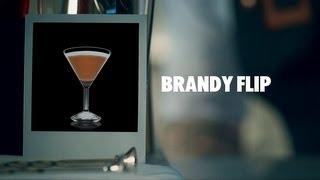 BRANDY FLIP DRINK RECIPE - HOW TO MIX