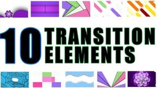 10 Clean broadcast transition effects pack