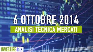 Video Analisi Mercati Finanziari - 06.10.2014