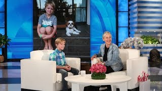 Ellen Meets a 10-Year-Old Raising Money for Hearing Impaired