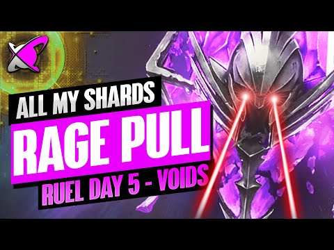THEY MADE ME PULL ALL MY VOIDS! | Ruel The Huntmaster Day 5 | BGE's Guides | RAID: Shadow Legends
