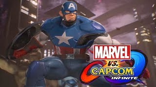 Marvel VS Capcom Infinite: Captain America's Theme (Classic Version)