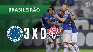CRUZEIRO 3 X 0 VITÓRIA - GOLS - 21/11 - BRASILEIRÃO 2018