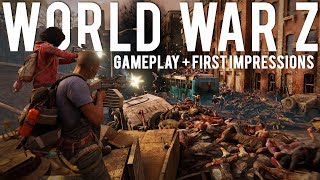 World War Z Gameplay and First Impressions