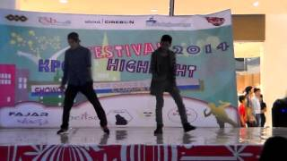 "Dance Cover Trouble Maker ""Now"" Live at CSB Mall (By Howler Ft 4Sense)"