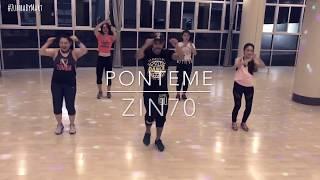 Zumba Fitness - Ponteme (Dembow) ZIN70 | Choreography by Zin™ Mart