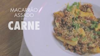 Macarrão Maravilhoso Assado com Espinafre e Carne Moída | Gourmet a dois
