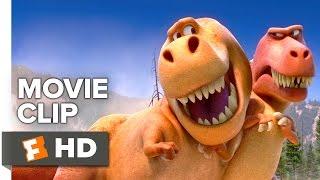 The Good Dinosaur Movie CLIP - T-Rexes (2015) - Pixar Movie HD