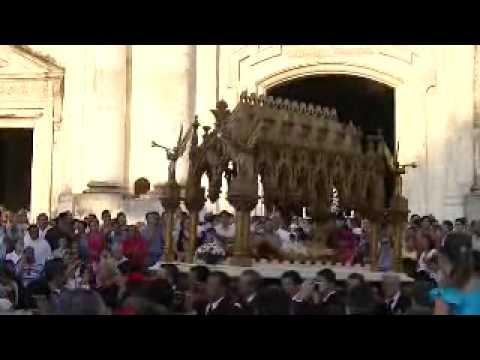 Salida Santo Entierro Catedral  León Nicaragua 2011