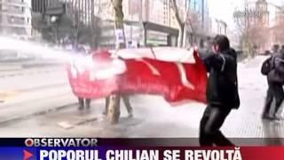 Revolta in Chile 25 AUGUST 2011