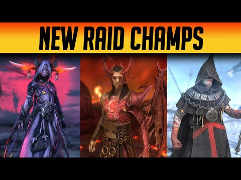 NEW EPIC CHAMPIONS FOR FUSION! SPIDER KILLER? | Raid: Shadow Legends