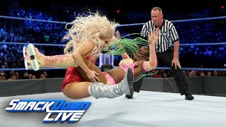 Naomi vs. Lana - SmackDown Women's Title Match: SmackDown LIVE, June 27, 2017