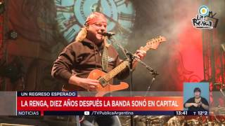 Recital de La Renga  #TVPúblicaNoticias