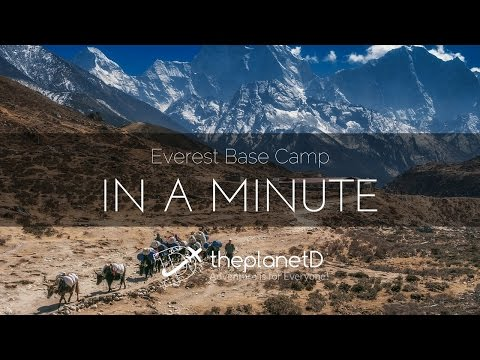 Everest Base Camp Trek in About a Minute