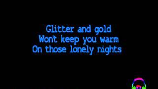 Rebecca Ferguson - Glitter & Gold [Official Lyrics Video   HQ/HD]