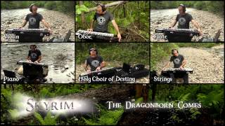 ✔ - SKYRIM - THE DRAGONBORN COMES (Cover)